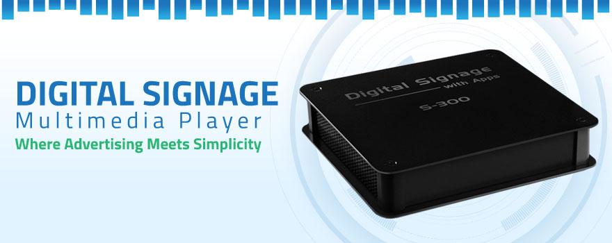 Digital Signage Media Player